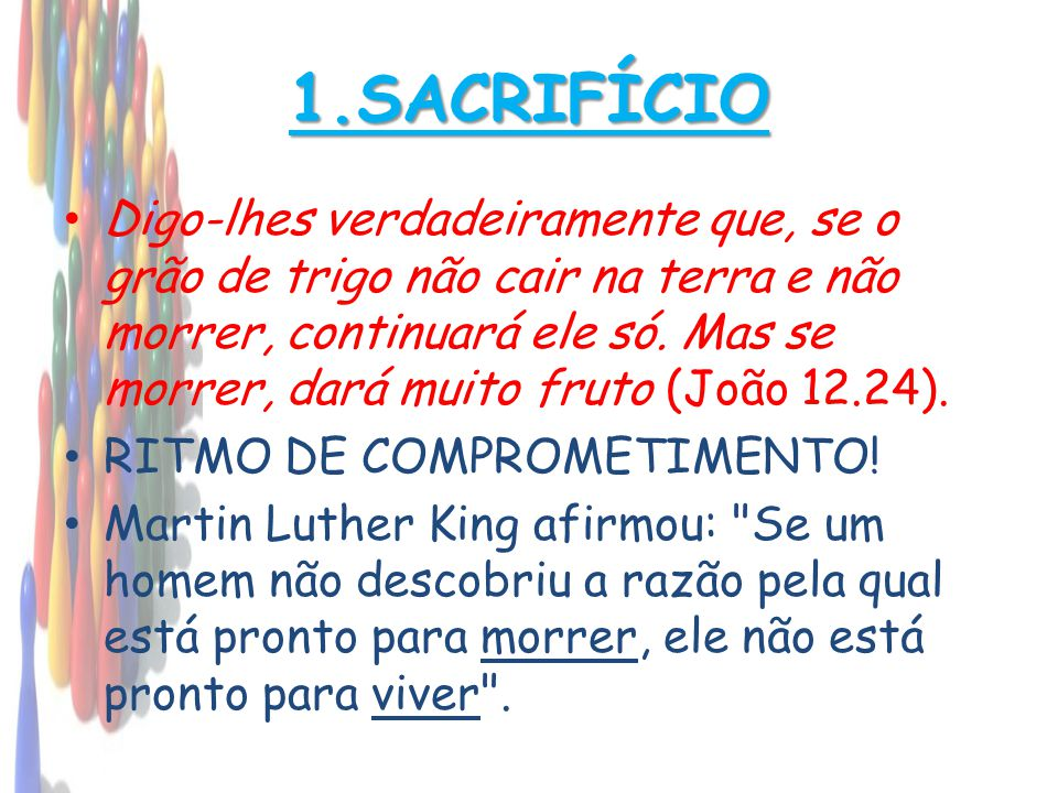 1.SACRIFÍCIO