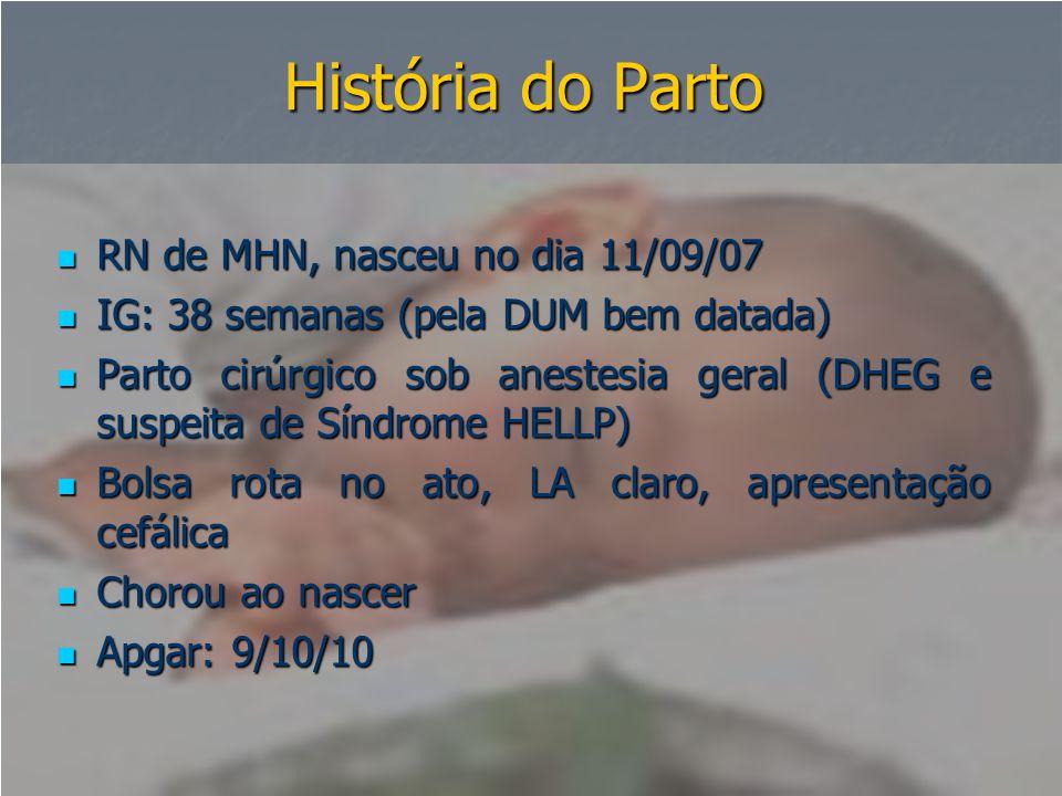 História do Parto RN de MHN, nasceu no dia 11/09/07