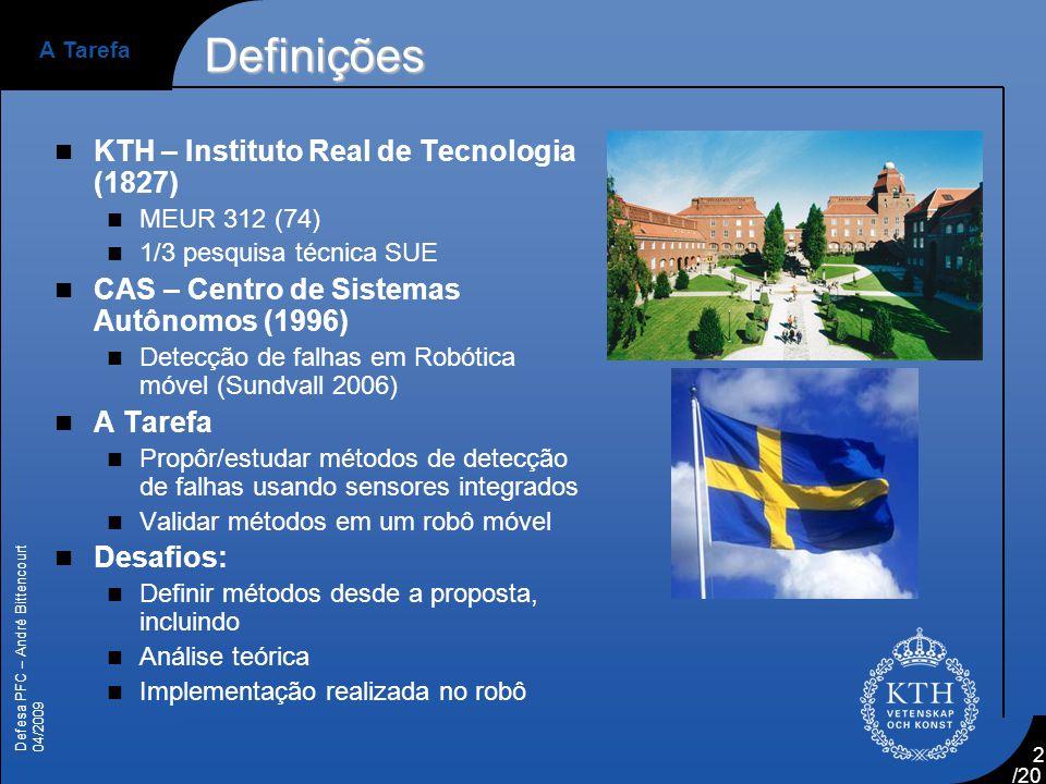 Definições KTH – Instituto Real de Tecnologia (1827)