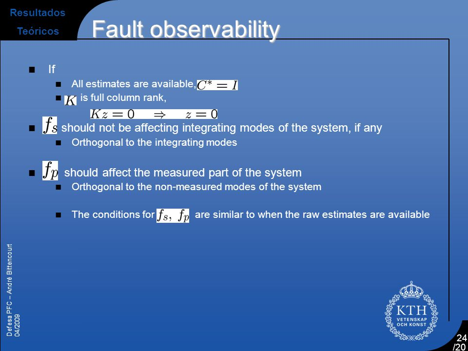 Fault observability If