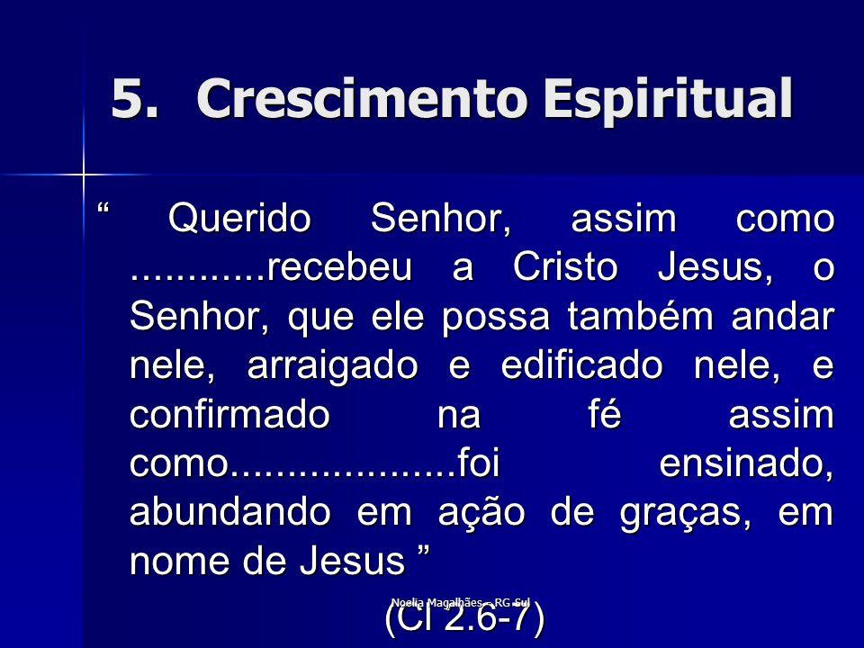 5. Crescimento Espiritual