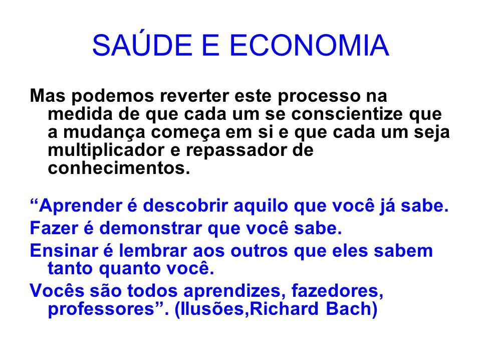 SAÚDE E ECONOMIA