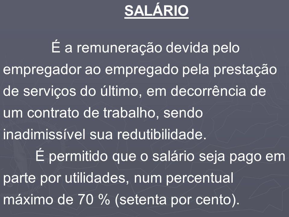 SALÁRIO