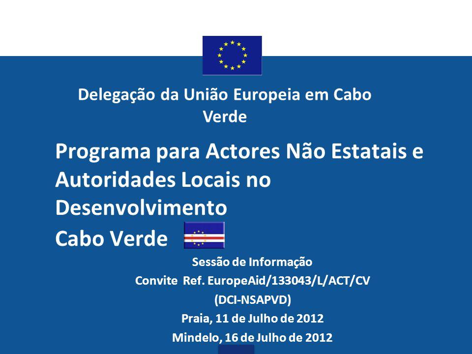 Delegação da União Europeia em Cabo Verde