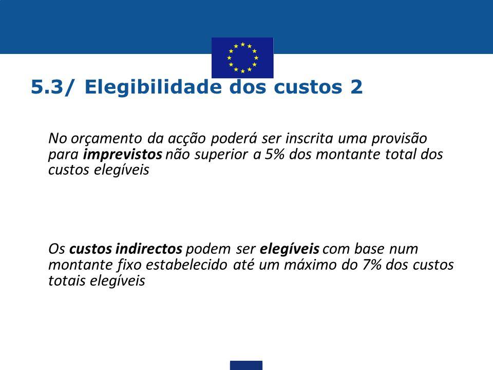 5.3/ Elegibilidade dos custos 2