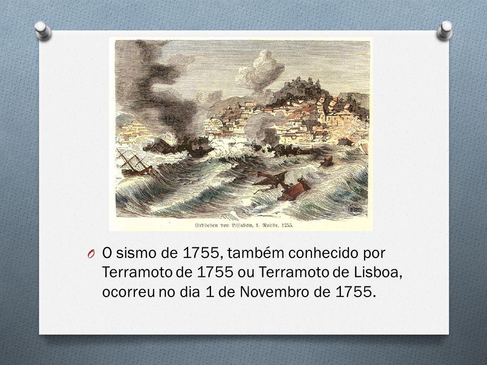 O sismo de 1755, também conhecido por Terramoto de 1755 ou Terramoto de Lisboa, ocorreu no dia 1 de Novembro de 1755.