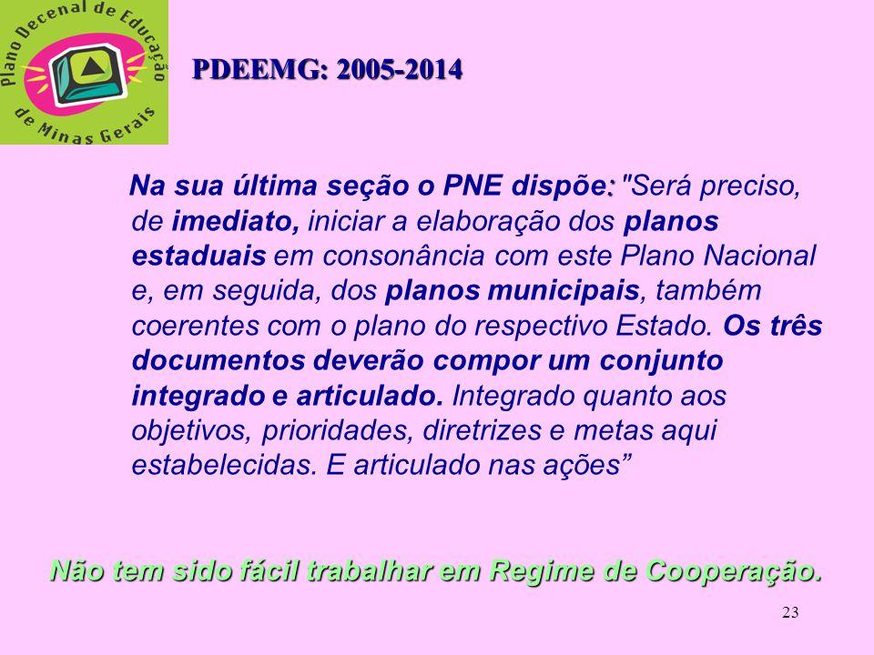 PDEEMG: 2005-2014