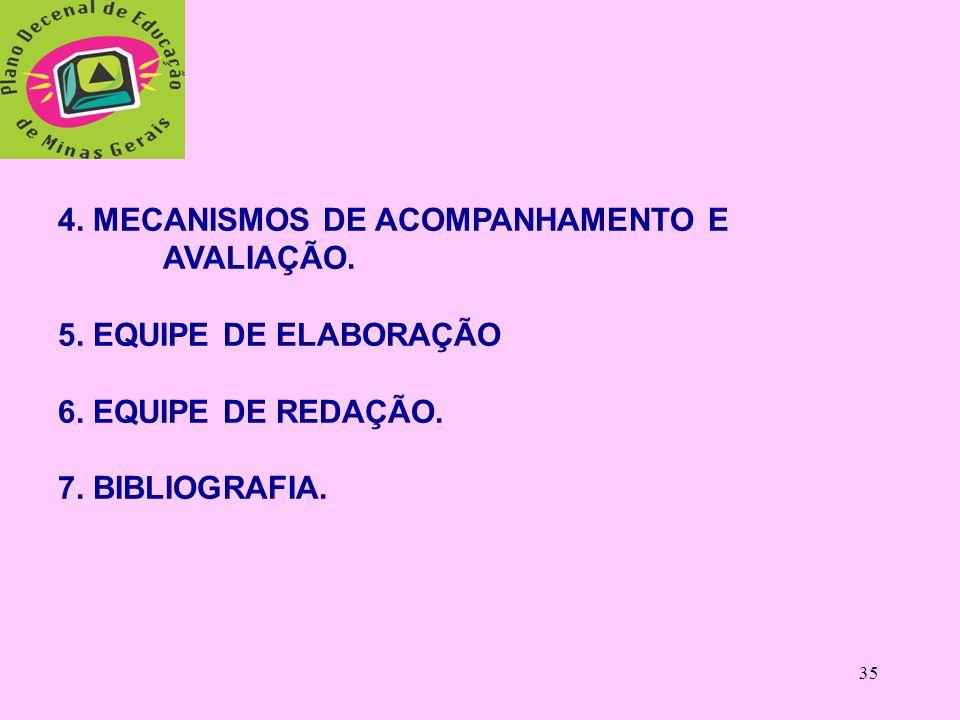 4. MECANISMOS DE ACOMPANHAMENTO E
