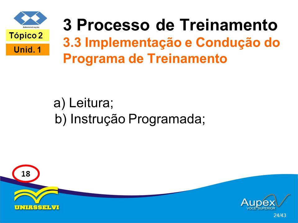 3 Processo de Treinamento 3