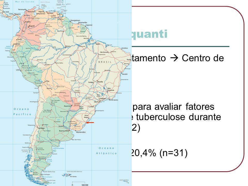 Estudo quanti Em Pelotas  1973 tratamento  Centro de Saúde