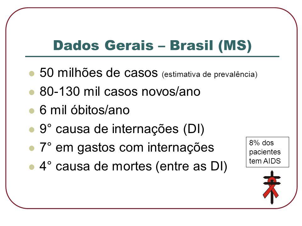 Dados Gerais – Brasil (MS)