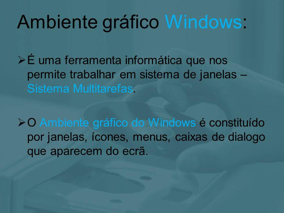 Ambiente gráfico Windows: