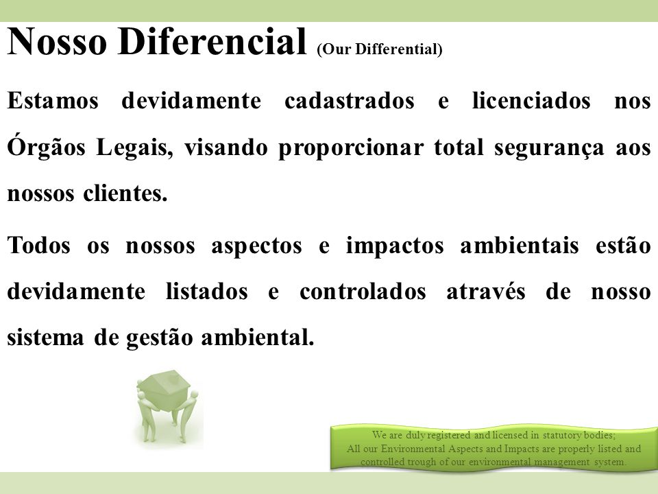 Nosso Diferencial (Our Differential)