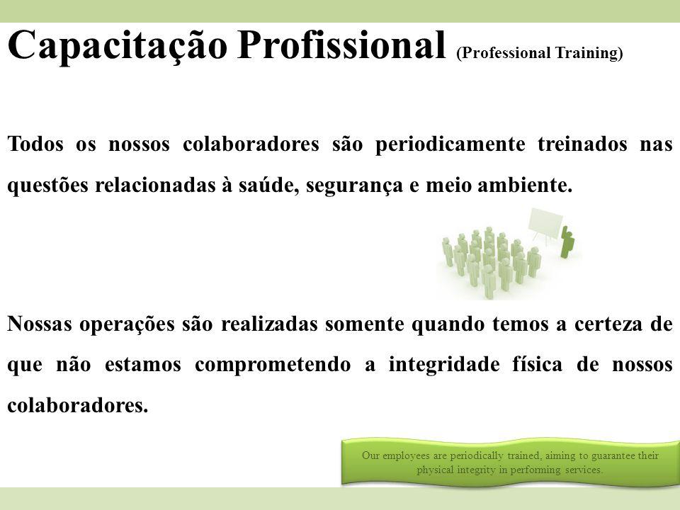 Capacitação Profissional (Professional Training)