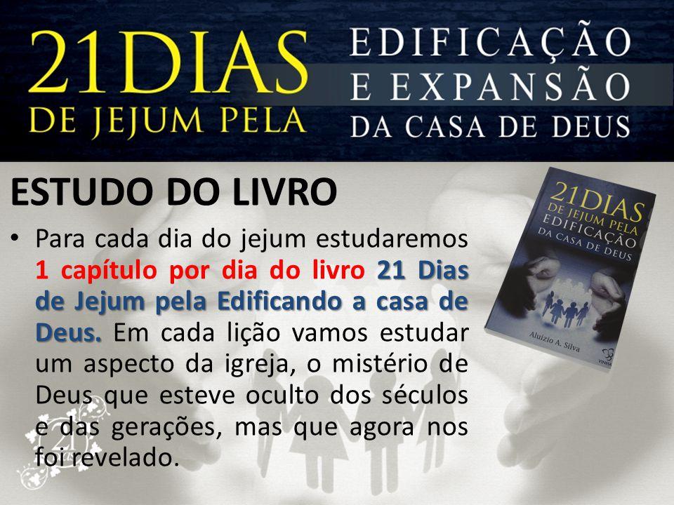 ESTUDO DO LIVRO