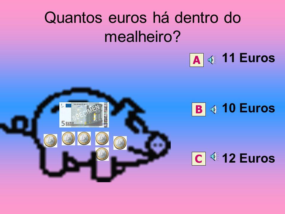 Quantos euros há dentro do mealheiro