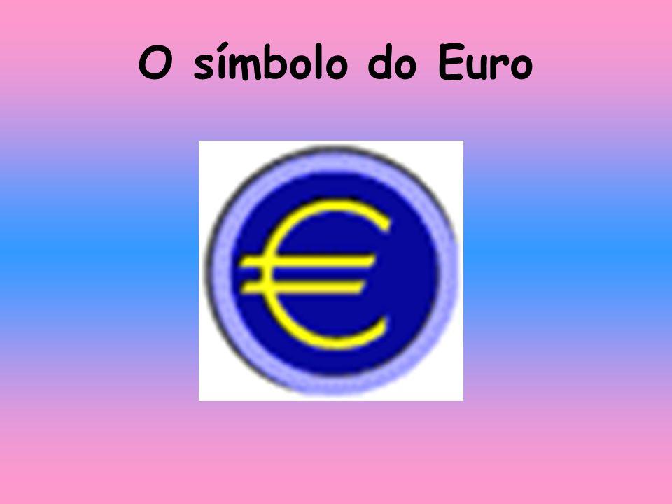 O símbolo do Euro