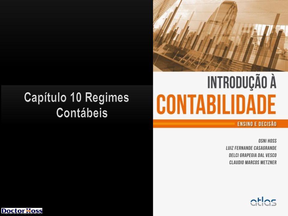 Capítulo 10 Regimes Contábeis