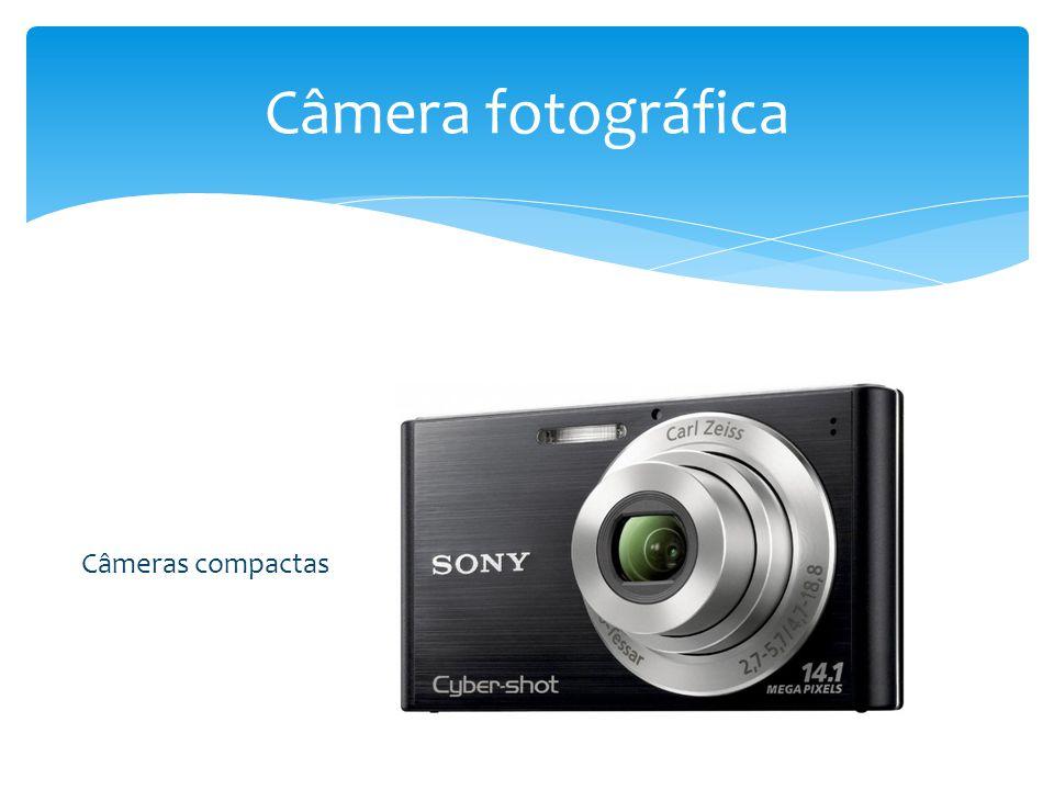 Câmera fotográfica Câmeras compactas