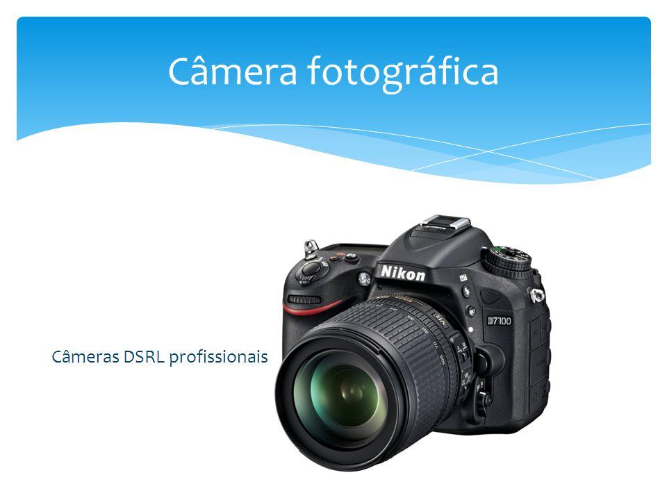 Câmera fotográfica Câmeras DSRL profissionais