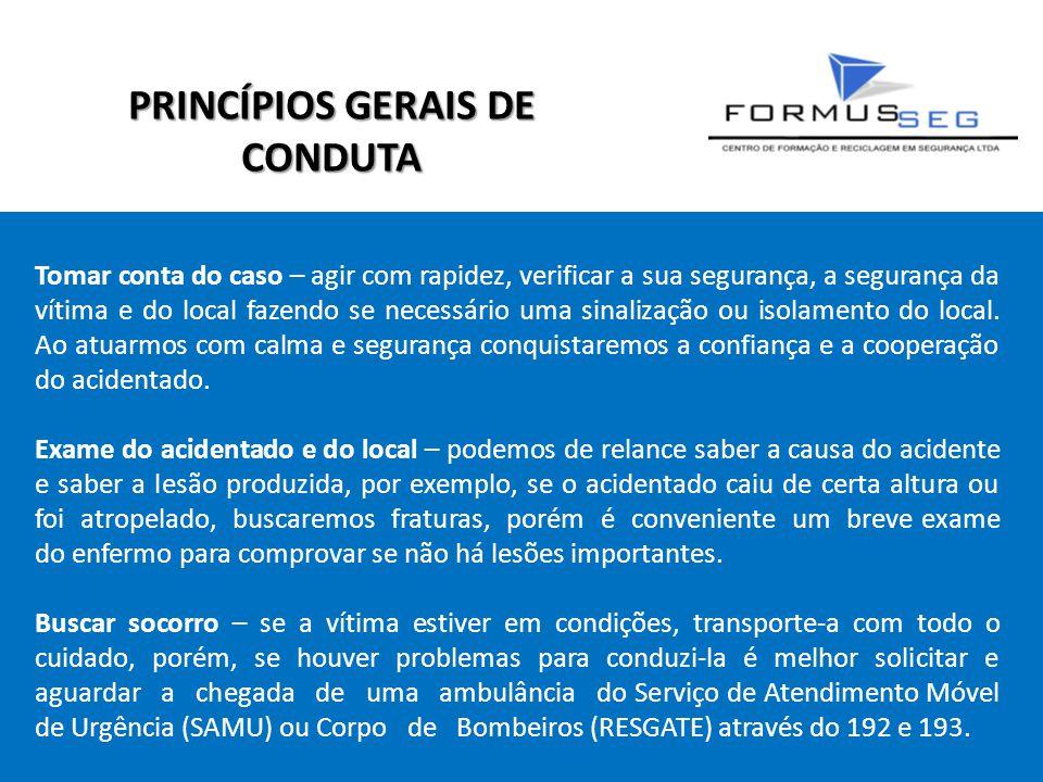 PRINCÍPIOS GERAIS DE CONDUTA