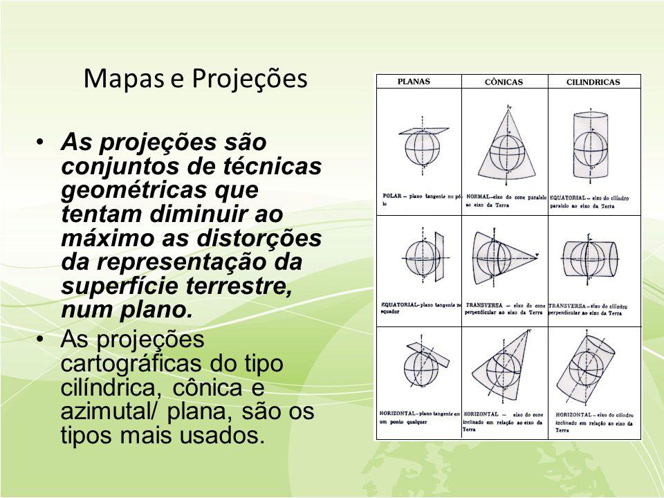 Mapas e Projeções
