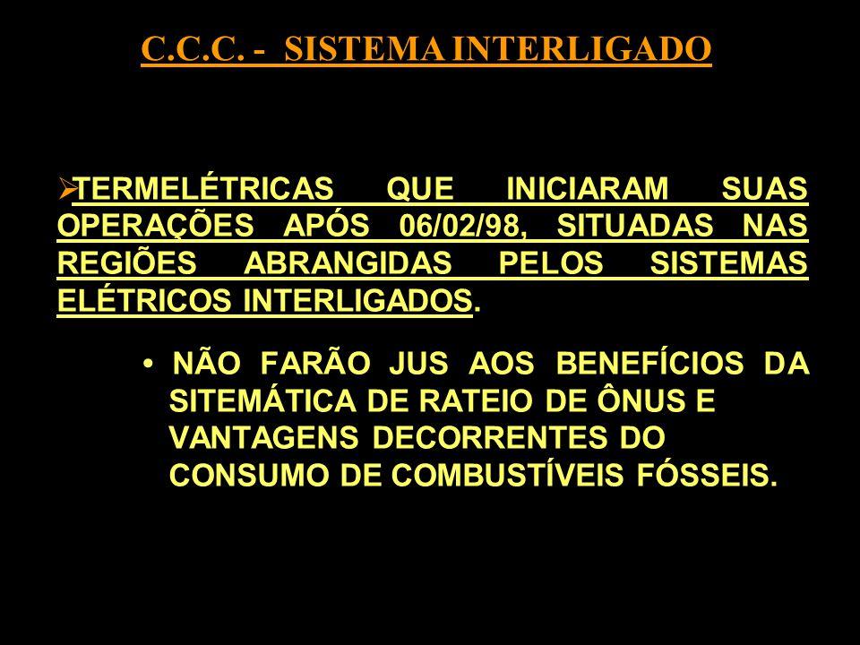 C.C.C. - SISTEMA INTERLIGADO