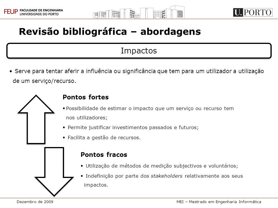 Revisão bibliográfica – abordagens
