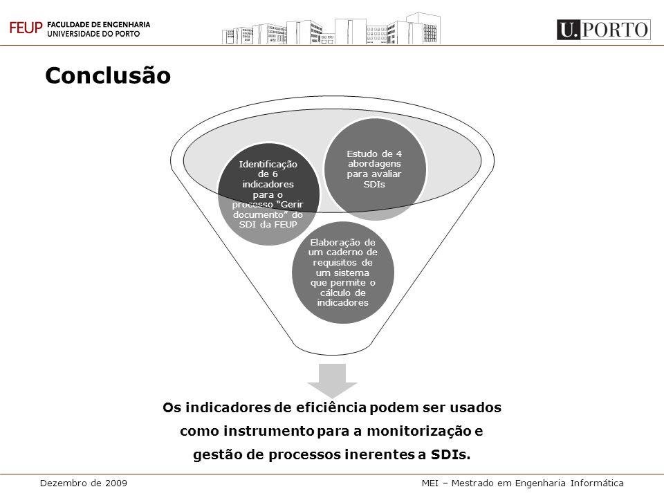 Estudo de 4 abordagens para avaliar SDIs