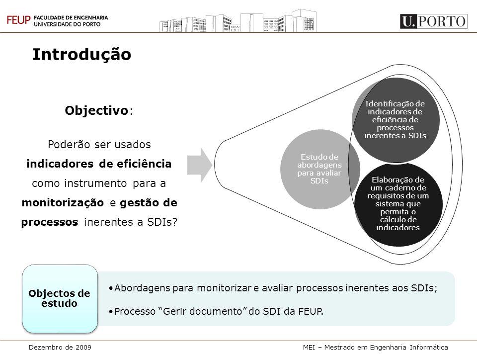 Estudo de abordagens para avaliar SDIs