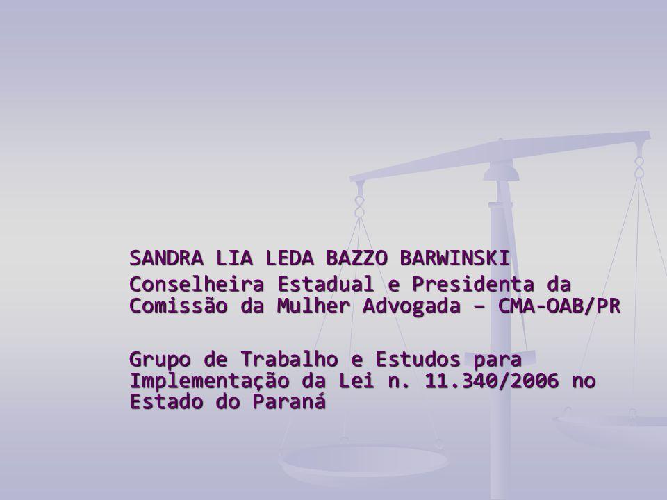 SANDRA LIA LEDA BAZZO BARWINSKI