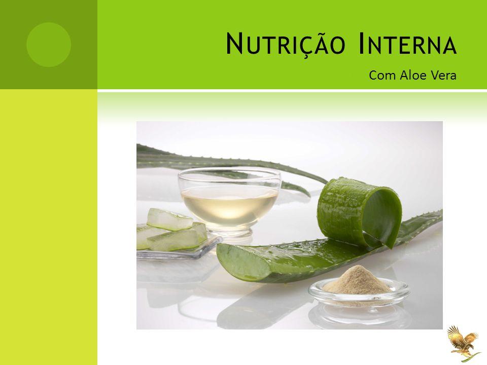 Nutrição Interna Com Aloe Vera