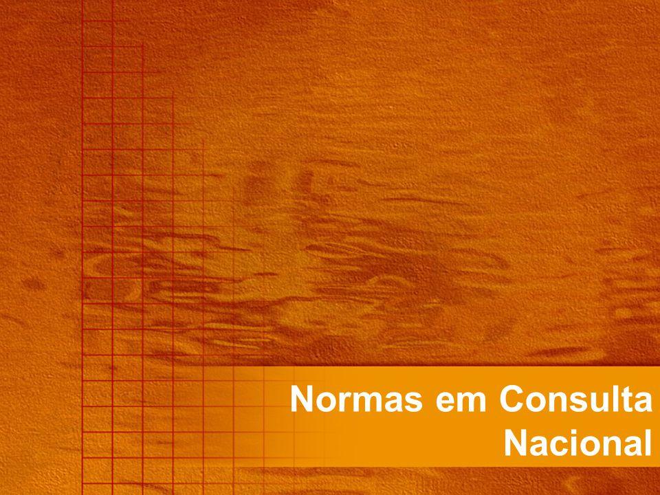Normas em Consulta Nacional