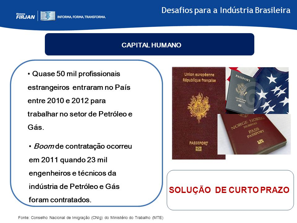 Desafios para a Indústria Brasileira