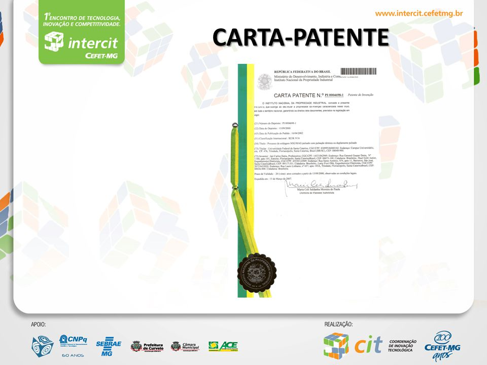 CARTA-PATENTE