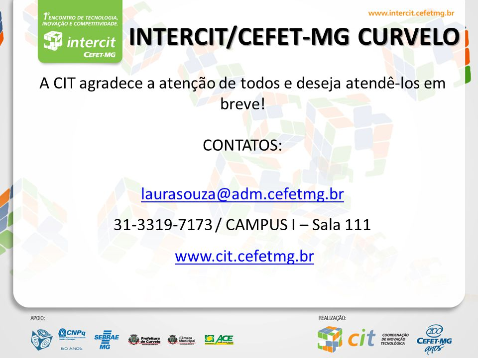 INTERCIT/CEFET-MG CURVELO