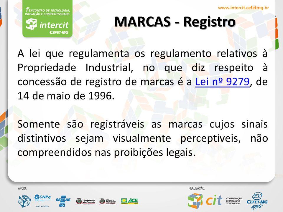 MARCAS - Registro