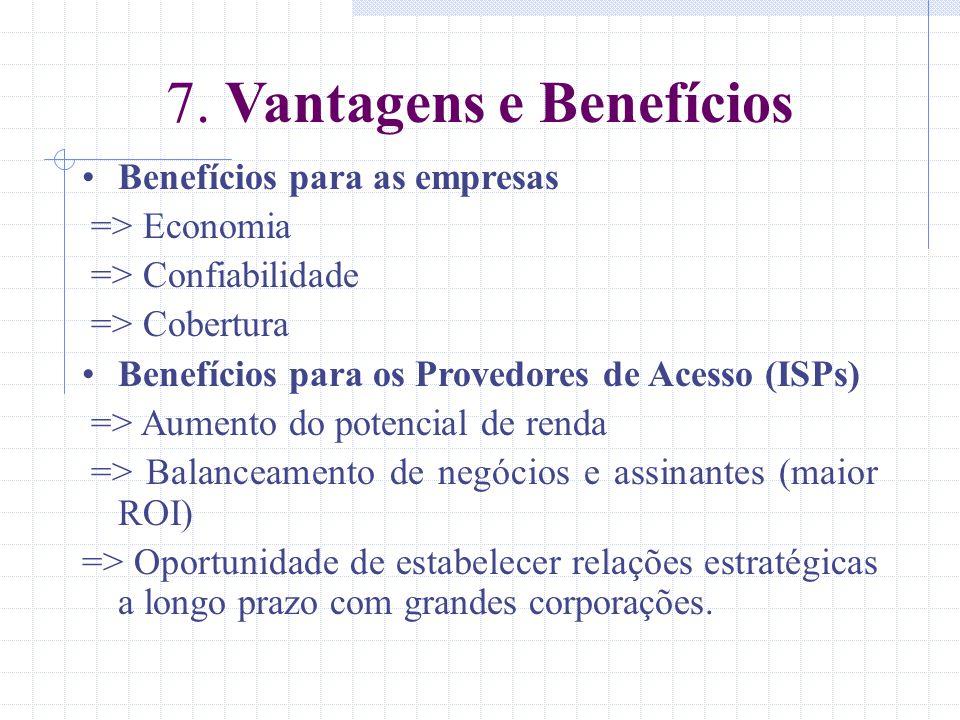 7. Vantagens e Benefícios