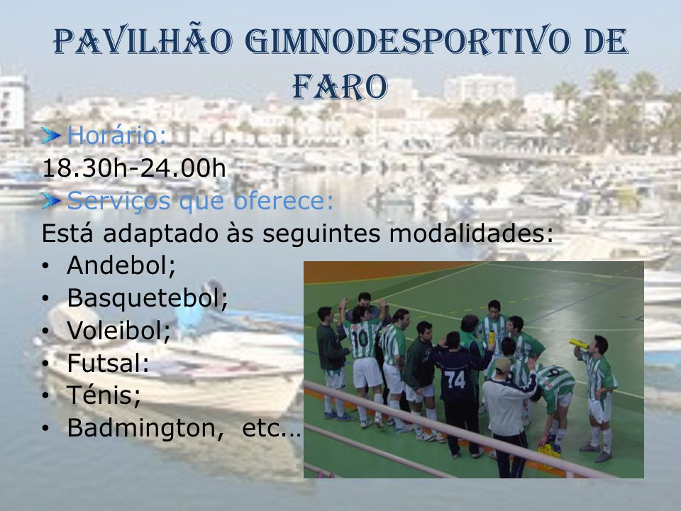 Pavilhão Gimnodesportivo de Faro
