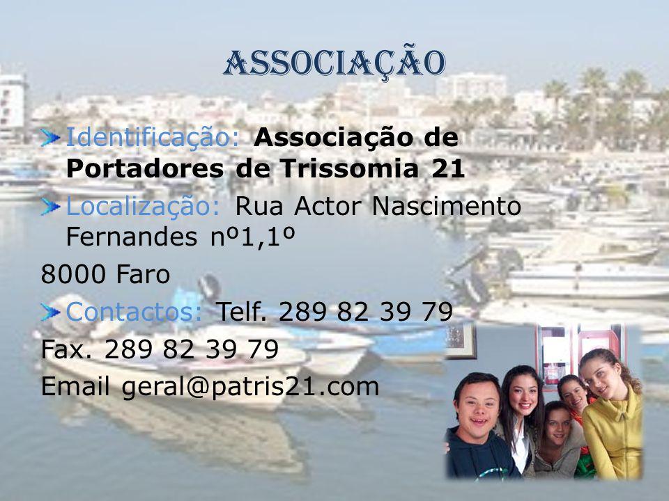 Associação Identificação: Associação de Portadores de Trissomia 21