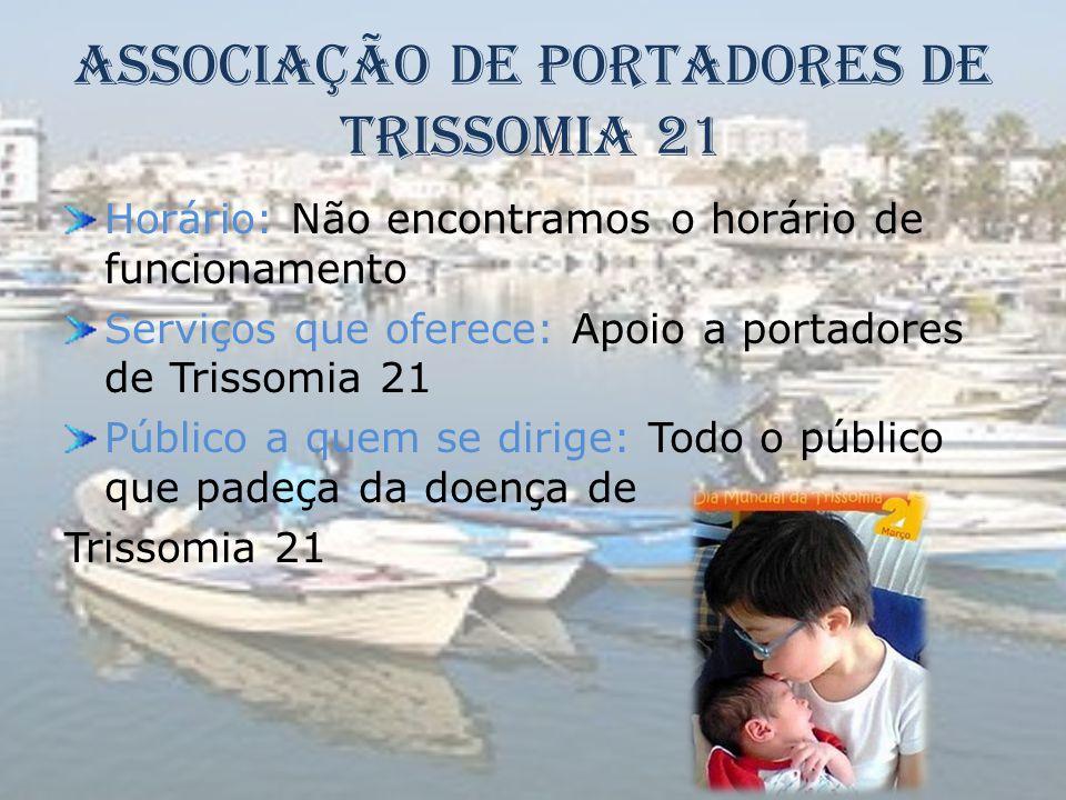 Associação de Portadores de Trissomia 21