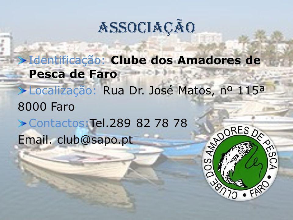 Associação Identificação: Clube dos Amadores de Pesca de Faro
