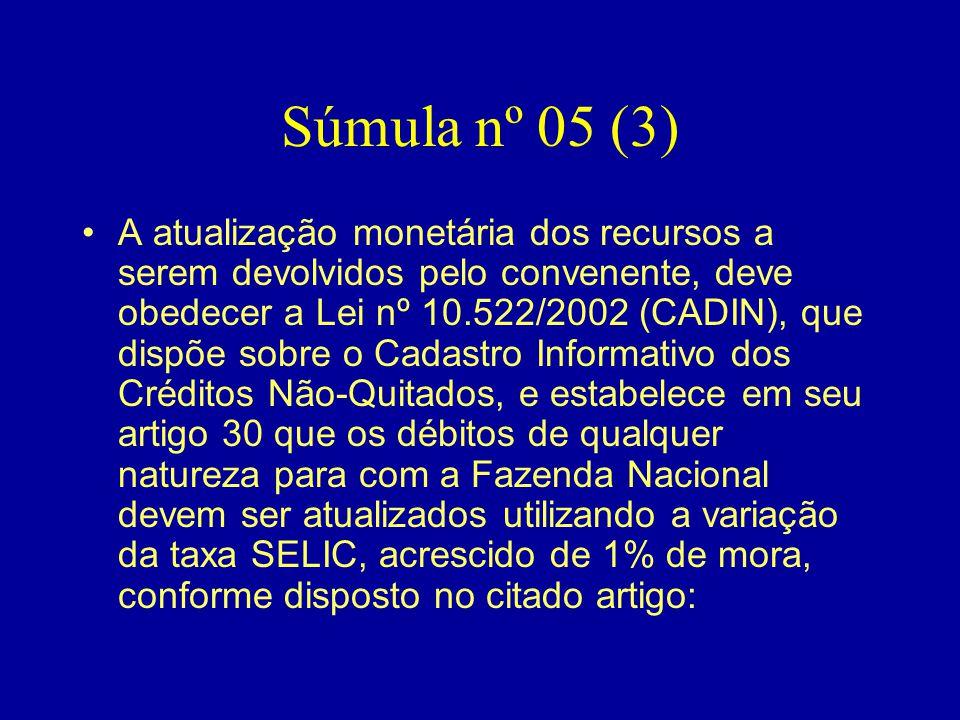 Súmula nº 05 (3)