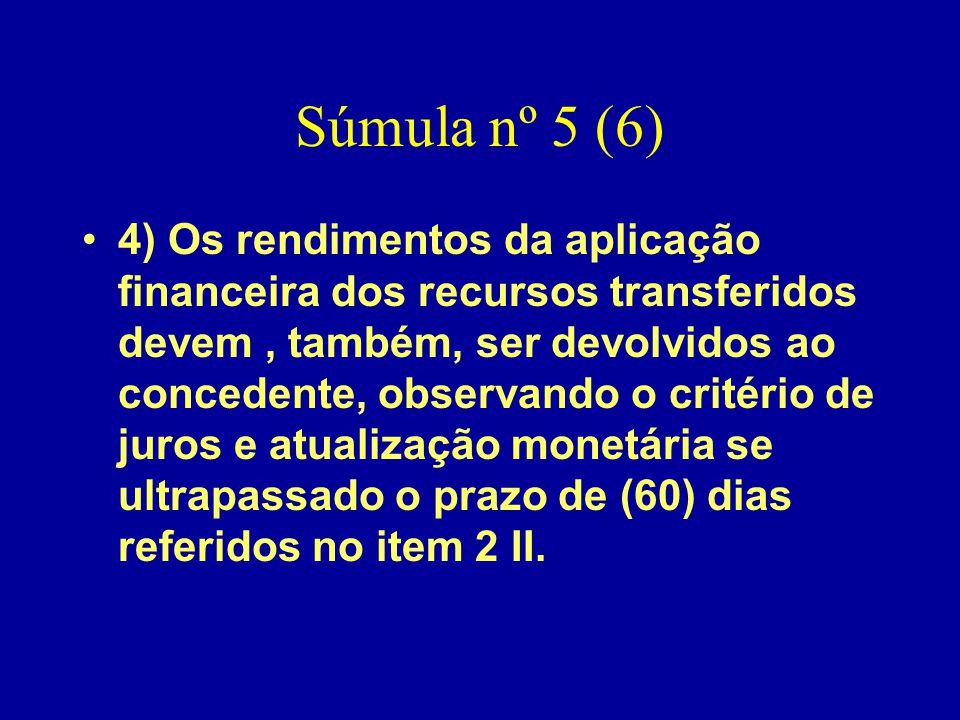 Súmula nº 5 (6)