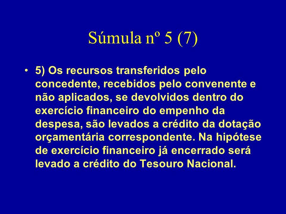 Súmula nº 5 (7)