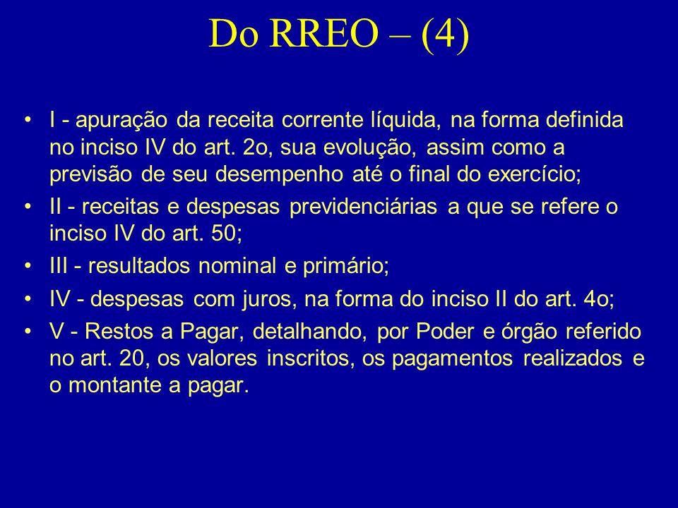 Do RREO – (4)