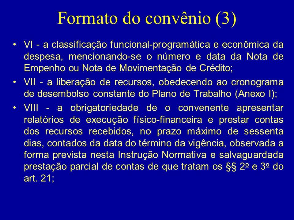 Formato do convênio (3)