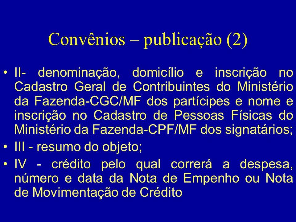 Convênios – publicação (2)