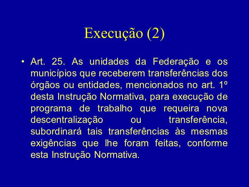 Execução (2)