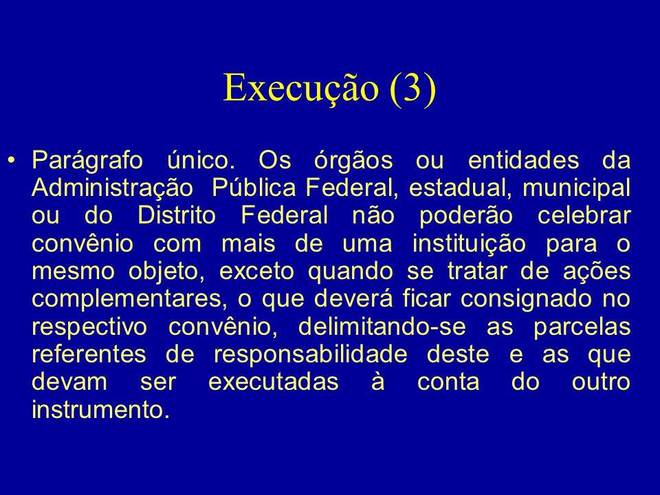 Execução (3)